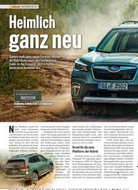 Titelbild der Ausgabe 11/2019 von FAHRBERICHT: Heimlich ganz neu. Zeitschriften als Abo oder epaper bei United Kiosk online kaufen.