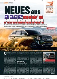 Titelbild der Ausgabe 3/2019 von AKTUELL: NEUES aus AMERICA. Zeitschriften als Abo oder epaper bei United Kiosk online kaufen.