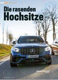 Titelbild der Ausgabe 3/2019 von VERGLEICHSTEST: Die rasenden Hochsitze. Zeitschriften als Abo oder epaper bei United Kiosk online kaufen.