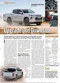 Titelbild der Ausgabe 11/2019 von FAHRBERICHT: Upgrade und Downsize. Zeitschriften als Abo oder epaper bei United Kiosk online kaufen.