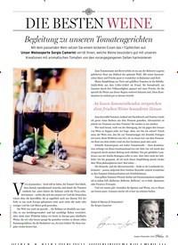 Titelbild der Ausgabe 5/2018 von DIE BESTEN WEINE: Begleitung zu unseren Tomatengerichten. Zeitschriften als Abo oder epaper bei United Kiosk online kaufen.