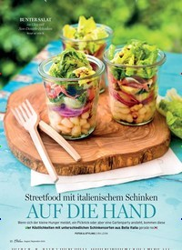Titelbild der Ausgabe 5/2018 von Streetfood mit italienischem Schinken: AUF DIE HAND. Zeitschriften als Abo oder epaper bei United Kiosk online kaufen.