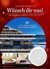 Titelbild der Ausgabe 1/2019 von ADVENTSVERLOSUNG: Wünsch dir was!. Zeitschriften als Abo oder epaper bei United Kiosk online kaufen.