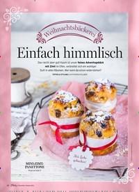 Titelbild der Ausgabe 1/2019 von Weihnachtsbäckerei: Einfach himmlisch. Zeitschriften als Abo oder epaper bei United Kiosk online kaufen.