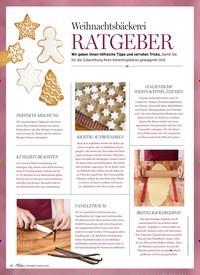 Titelbild der Ausgabe 1/2019 von Weihnachtsbäckerei: RATGEBER. Zeitschriften als Abo oder epaper bei United Kiosk online kaufen.