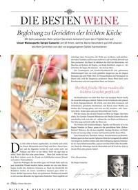 Titelbild der Ausgabe 2/2019 von DIE BESTEN WEINE. Zeitschriften als Abo oder epaper bei United Kiosk online kaufen.