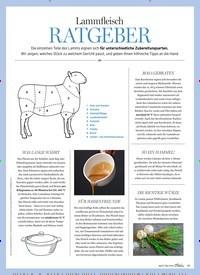 Titelbild der Ausgabe 3/2019 von Lammfleisch: RATGEBER. Zeitschriften als Abo oder epaper bei United Kiosk online kaufen.