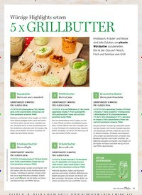 Titelbild der Ausgabe 4/2019 von Würzige Highlights setzen: 5 x GRILLBUTTER. Zeitschriften als Abo oder epaper bei United Kiosk online kaufen.