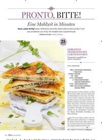 Titelbild der Ausgabe 4/2019 von PRONTO, BITTE!: Eine Mahlzeit in Minuten. Zeitschriften als Abo oder epaper bei United Kiosk online kaufen.