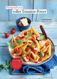 Titelbild der Ausgabe 5/2019 von Pastagericht mit: voller Tomaten-Power. Zeitschriften als Abo oder epaper bei United Kiosk online kaufen.