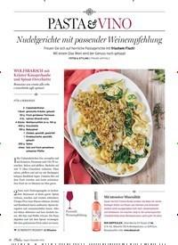 Titelbild der Ausgabe 5/2019 von PASTA VINO: Nudelgerichte mit passender Weinempfehlung. Zeitschriften als Abo oder epaper bei United Kiosk online kaufen.