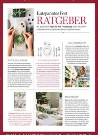 Titelbild der Ausgabe 1/2020 von Entspanntes Fest: RATGEBER. Zeitschriften als Abo oder epaper bei United Kiosk online kaufen.