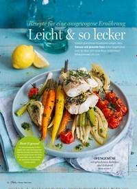 Titelbild der Ausgabe 2/2020 von Rezepte für eine ausgewogene Ernährung: Leicht & so lecker. Zeitschriften als Abo oder epaper bei United Kiosk online kaufen.