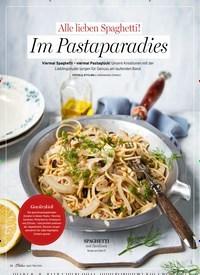 Titelbild der Ausgabe 3/2020 von Alle lieben Spaghetti!: Im Pastaparadies. Zeitschriften als Abo oder epaper bei United Kiosk online kaufen.