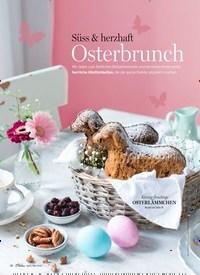 Titelbild der Ausgabe 3/2020 von Süss & herzhaft: Osterbrunch. Zeitschriften als Abo oder epaper bei United Kiosk online kaufen.