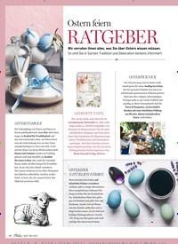 Titelbild der Ausgabe 3/2020 von Ostern feiern: RATGEBER. Zeitschriften als Abo oder epaper bei United Kiosk online kaufen.