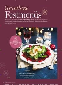 Titelbild der Ausgabe 1/2021 von Grandiose Festmenüs. Zeitschriften als Abo oder epaper bei United Kiosk online kaufen.