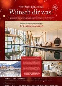 Titelbild der Ausgabe 1/2021 von ADVENTSVERLOSUNG: Wünsch dir was!. Zeitschriften als Abo oder epaper bei United Kiosk online kaufen.