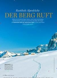 Titelbild der Ausgabe 1/2021 von Rustikale Alpenküche: DER BERG RUFT. Zeitschriften als Abo oder epaper bei United Kiosk online kaufen.