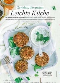 Titelbild der Ausgabe 2/2021 von Gerichte, die guttun Leichte Küche. Zeitschriften als Abo oder epaper bei United Kiosk online kaufen.