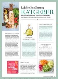 Titelbild der Ausgabe 2/2021 von Leichte Ernährung RATGEBER. Zeitschriften als Abo oder epaper bei United Kiosk online kaufen.