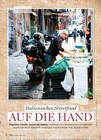Titelbild der Ausgabe 2/2021 von Italienisches Streetfood AUF DIE HAND. Zeitschriften als Abo oder epaper bei United Kiosk online kaufen.