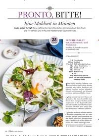 Titelbild der Ausgabe 3/2021 von PRONTO, BITTE! Eine Mahlzeit in Minuten. Zeitschriften als Abo oder epaper bei United Kiosk online kaufen.