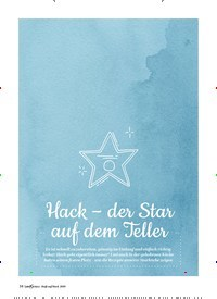 Titelbild der Ausgabe 2/2019 von STARKÖCHE: Hack – der Star auf dem Teller. Zeitschriften als Abo oder epaper bei United Kiosk online kaufen.