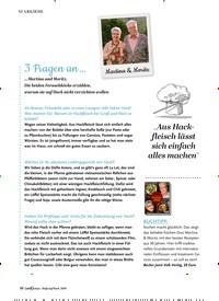 Titelbild der Ausgabe 2/2019 von STARKÖCHE: 3 Fragen an …. Zeitschriften als Abo oder epaper bei United Kiosk online kaufen.