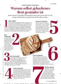 Titelbild der Ausgabe 1/2020 von Kritische Stoffe im Industriebrot: Warum selbst gebackenes Brot gesünder ist. Zeitschriften als Abo oder epaper bei United Kiosk online kaufen.