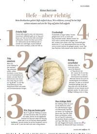 Titelbild der Ausgabe 1/2020 von RATGEBER: Hefe - aber richtig. Zeitschriften als Abo oder epaper bei United Kiosk online kaufen.
