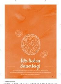 Titelbild der Ausgabe 1/2020 von SAUERTEIG: Wir lieben Sauerteig!. Zeitschriften als Abo oder epaper bei United Kiosk online kaufen.