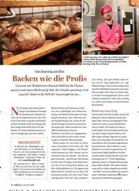 Titelbild der Ausgabe 1/2020 von SAUERTEIG: Backen wie die Profis. Zeitschriften als Abo oder epaper bei United Kiosk online kaufen.