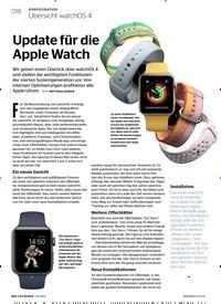 Titelbild der Ausgabe 2/2018 von KONFIGURATION Übersicht watchOS 4: Update für die Apple Watch. Zeitschriften als Abo oder epaper bei United Kiosk online kaufen.