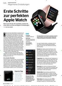 Titelbild der Ausgabe 2/2018 von Allgemeine Einstellungen: Erste Schritte zur perfekten Apple Watch. Zeitschriften als Abo oder epaper bei United Kiosk online kaufen.