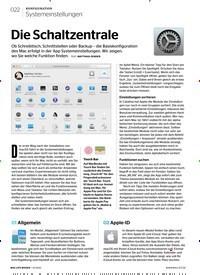 Titelbild der Ausgabe 1/2020 von Systemeinstellungen: Die Schaltzentrale. Zeitschriften als Abo oder epaper bei United Kiosk online kaufen.