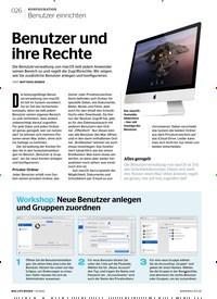 Titelbild der Ausgabe 1/2020 von Benutzer einrichten: Benutzer und ihre Rechte. Zeitschriften als Abo oder epaper bei United Kiosk online kaufen.