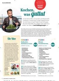 Titelbild der Ausgabe 1/2019 von KLUG GENIESSEN: Kochen, was guttut. Zeitschriften als Abo oder epaper bei United Kiosk online kaufen.