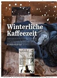 Titelbild der Ausgabe 2/2019 von Winterliche Kaffeezeit. Zeitschriften als Abo oder epaper bei United Kiosk online kaufen.