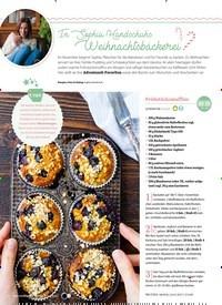Titelbild der Ausgabe 2/2019 von In Sophia Handschuhs Weihnachtsbäckerei. Zeitschriften als Abo oder epaper bei United Kiosk online kaufen.