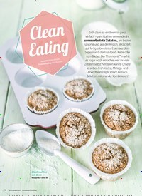 Titelbild der Ausgabe 1/2019 von Clean Eating. Zeitschriften als Abo oder epaper bei United Kiosk online kaufen.