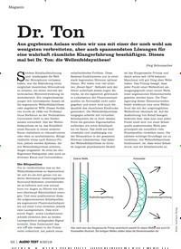 Titelbild der Ausgabe 6/2019 von Dr. Ton. Zeitschriften als Abo oder epaper bei United Kiosk online kaufen.