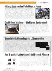 Titelbild der Ausgabe 7/2019 von Inklang: Lautsprecher Probehören zu Hause. Zeitschriften als Abo oder epaper bei United Kiosk online kaufen.