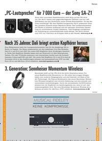 Titelbild der Ausgabe 7/2019 von Nach 35 Jahren: Dali bringt ersten Kopfhörer heraus. Zeitschriften als Abo oder epaper bei United Kiosk online kaufen.
