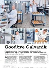 Titelbild der Ausgabe 7/2019 von Goodbye Galvanik. Zeitschriften als Abo oder epaper bei United Kiosk online kaufen.