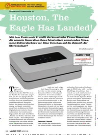 Titelbild der Ausgabe 8/2019 von Bluesound Powernode 2i: Houston, The Eagle Has Landed!. Zeitschriften als Abo oder epaper bei United Kiosk online kaufen.