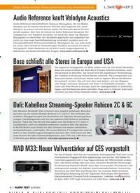 Titelbild der Ausgabe 2/2020 von Audio Reference kauft Velodyne Acoustics. Zeitschriften als Abo oder epaper bei United Kiosk online kaufen.