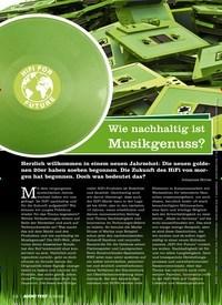 Titelbild der Ausgabe 2/2020 von Wie nachhaltig ist Musikgenuss?. Zeitschriften als Abo oder epaper bei United Kiosk online kaufen.