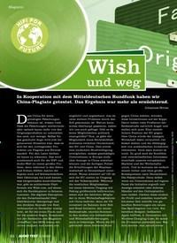 Titelbild der Ausgabe 2/2020 von Wish und weg. Zeitschriften als Abo oder epaper bei United Kiosk online kaufen.