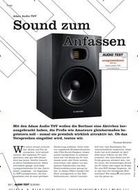 Titelbild der Ausgabe 5/2020 von Test: Adam Audio T8V: Sound zum Anfassen. Zeitschriften als Abo oder epaper bei United Kiosk online kaufen.